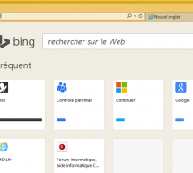 Bing s'impose dans Internet Explorer