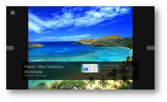 Recherche d'images sur Bing